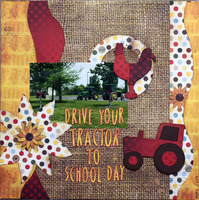 Drive your tractor to school day