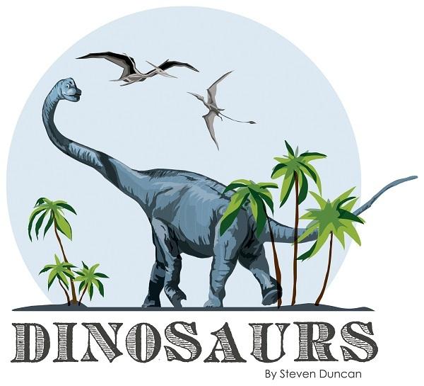 Dinosaurs Carta Bella Steven Duncan