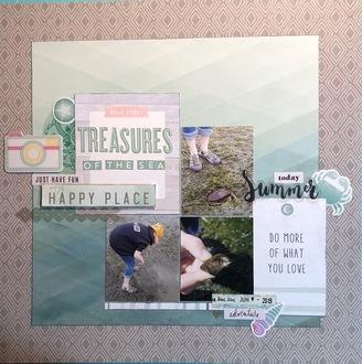 Becky Fleck #146/ Treasures of the Sea