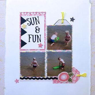 Sun & Fun (July 2019 3 In A Row Challenge)