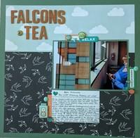 Falcons and Tea