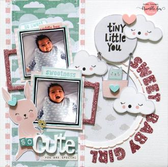 So Cute - Sweet Baby Girl