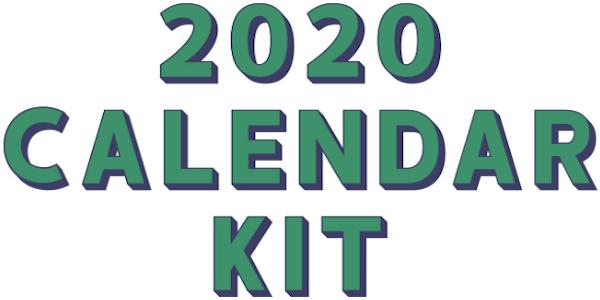 2020 Calendar Kit Photoplay Photo Play