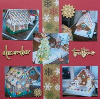 Christmas Traditions - Gingerbread Houses