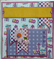 August Use Your Scraps Card Challenge