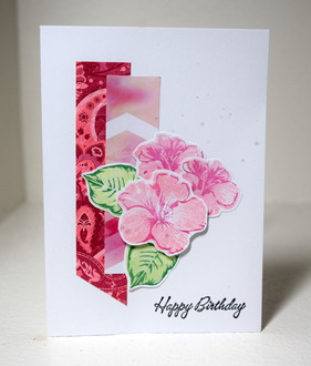 Pink Flowers for Birthday