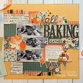 Simple Stories Fall Farmhouse - Fall Baking
