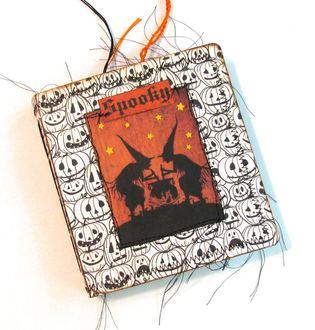 Halloween Junk Journal Witches