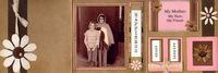 "Mom Accordion Mini Album (As seen in ""Scrappin', Stampin' & Stationery!"")"
