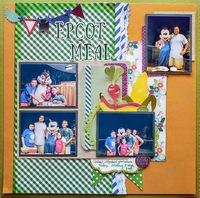 Epcot - Garden Grill - Disney World #148