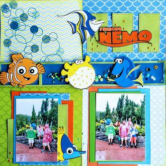 Finding Nemo - Disney World Layout