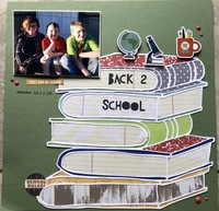 Sept Build Me a Layout/ Back to School