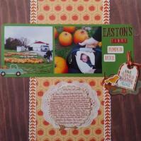 eastons first pumpkin patch