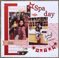 American Girl Spa Day