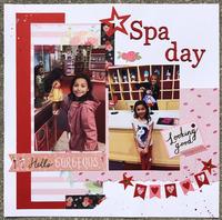 American Girl Spa Day