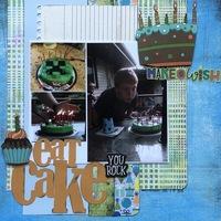 Becky Fleck #149/ Eat Cake