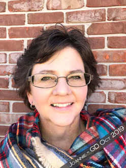 Welcome Joannie - Our October 2019 Guest Designer