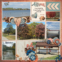 Kent Lake in Autumn
