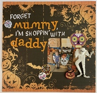 Forget mummy, I'm Shoppin' with Daddy
