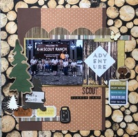 Oct. Sketch with a Twist/ Scout Summer Camp