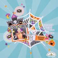 Spooky layout **Doodlebug Design**