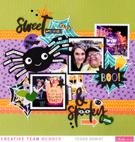 Sweet & Spooky layout *Bella Blvd*