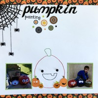Pumpkin Painting (Oct 3 in a Row)