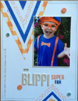 our Blippi super fan