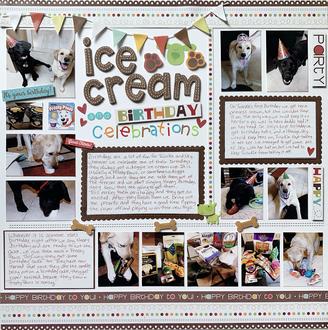 Ice Cream and Birthday Celebrations