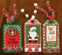 Photoplay Muttcracker Christmas Tags