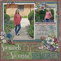 So Many Memories …