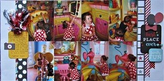 Minnie's House & Lizzie