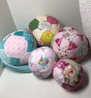 Fabric Puzzle Balls & Bag