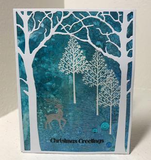 Winter Christmas Greeting