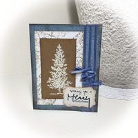 Christmas Tree on Kraft
