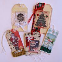 Xmas Tags Time Holtz Ephemera