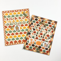 Hello And Paper Hug Cards