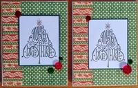 2019 Christmas Cards #4 & 5
