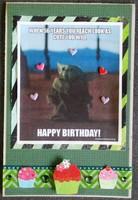 Baby Yoda bday card