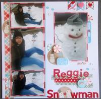 Reggie the Snowman