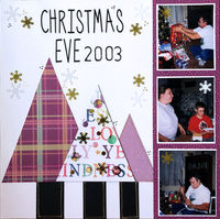 Christmas Eve 2003 (Dec 2019 Double Page Challenge)