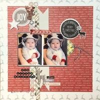 Becky Fleck #154/ Our Little Reindeer