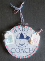 Baby Coach ornament