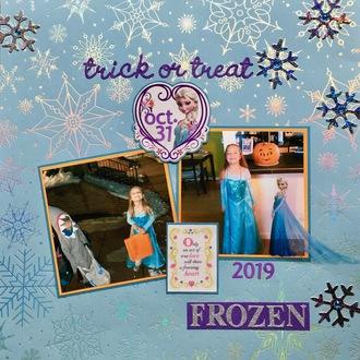 Trick or Treat - Frozen