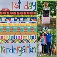 1st Day-Kindergqarten