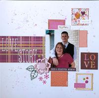 Love Story (Jan 2020 Guest Designer 2 Challenge)