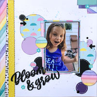 Bloom & grow (Jan 2020 Scraplift the Guest Designer)