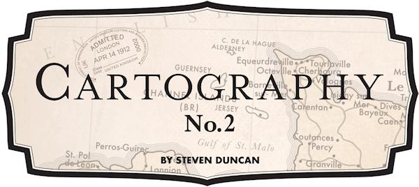 Cartography No. 2 Steven Duncan Carta Bella