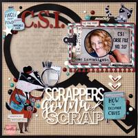 CSI: Scrappers Gonna Scrap