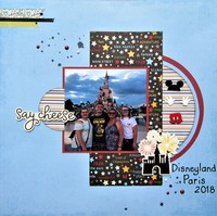 Say Cheese - Disneyland Paris